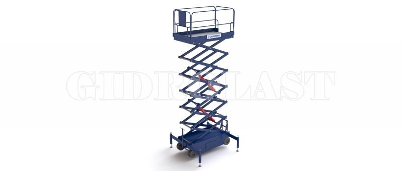 Продаем со склада и на заказ передвижные пантографные подъемники