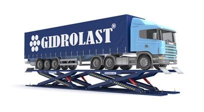 Подъемники пантографного типа для грузовых автомобилей