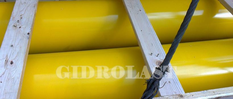 Гидроцилиндры для горных разработок - подготовка к отправке заказчику