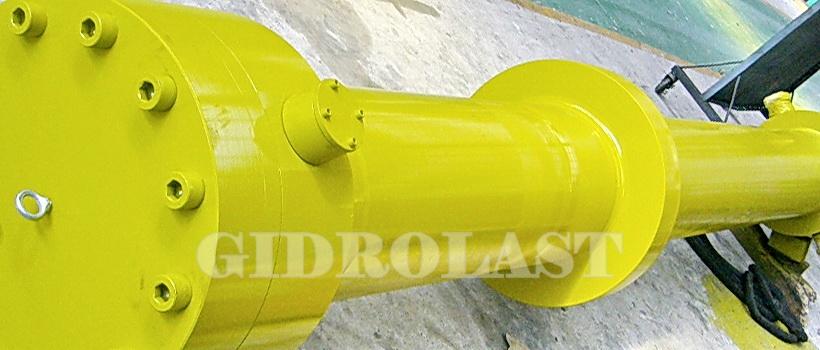 Гидроцилиндры на заказ, для гидроэнергетики