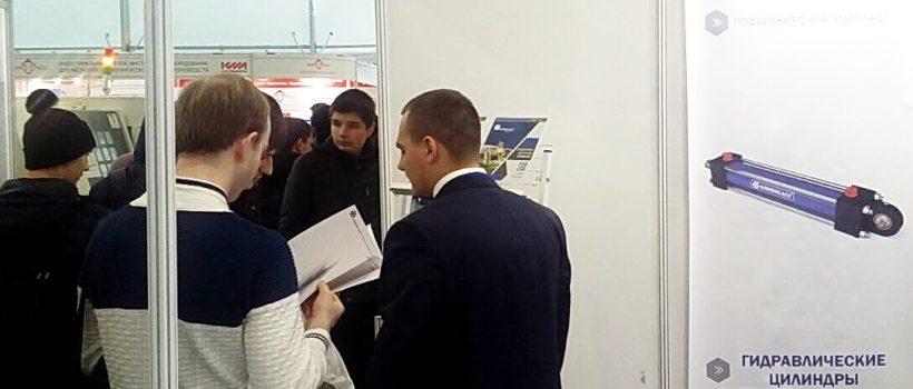 Гости стенда ГК Гидроласт на выставке в Казани 6-8 декабря 2017г